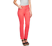 Isaac Mizrahi Live! Regular Icon Grace Ankle Jeans - A254293