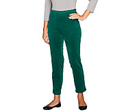 Isaac Mizrahi Live! Regular Stretch Corduroy Pull-On Pants - A255893
