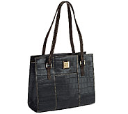Dooney & Bourke Croco Leather Charlotte Bag - A257693