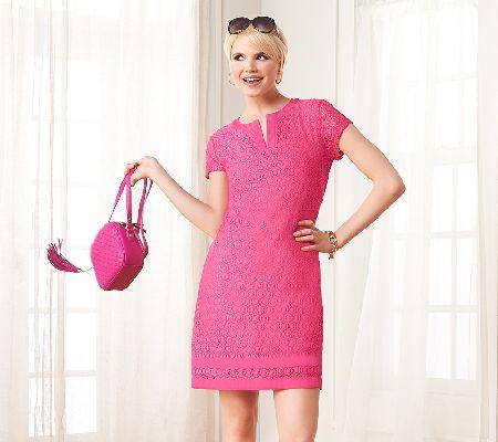 Lace dress qvc home
