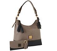 As Is Dooney & Bourke European Leather Sophie Hobo - A263993