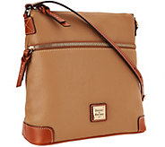 As Is Dooney & Bourke Pebble Leather Crossbody - A267093