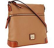 As Is Dooney & Bourke Pebble Leather Crossbody - A267093