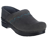 Dansko Professional Embroidered Stain Resistant Clogs - A268693