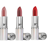 IT Cosmetics Blurred Lines Smooth Fill Must-Haves Lipstick Trio - A271093