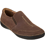 Vionic Orthotic Leather or Nubuck Slip-ons - Addison - A271393