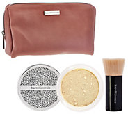 bareMinerals Deluxe Original Foundation & Brush Duo Plus Bag - A273693