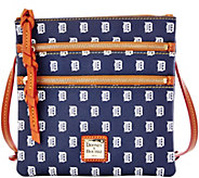 Dooney & Bourke MLB Tigers Triple Zip Crossbody - A279993
