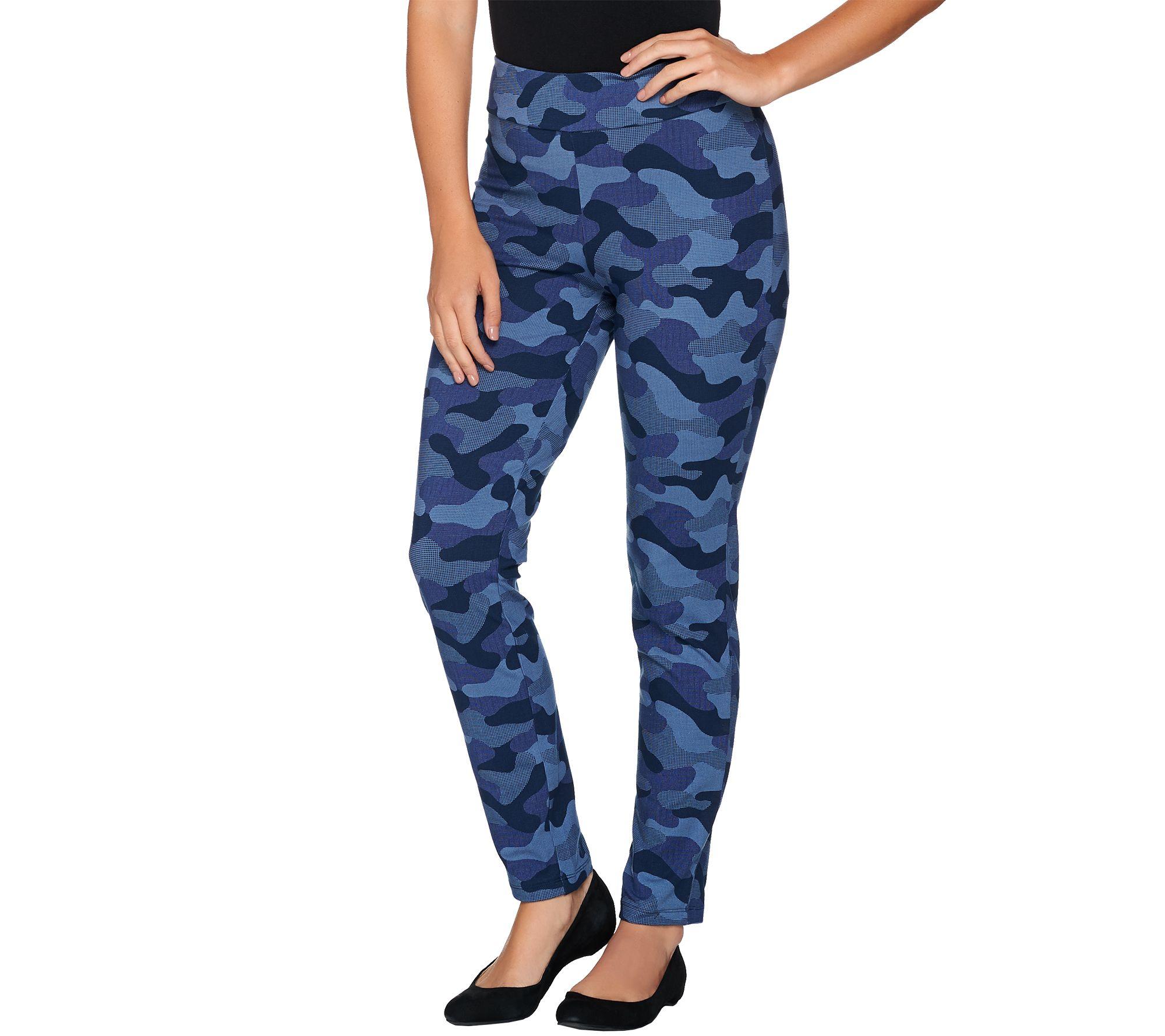 Original Blue Camouflage Military BDU Cargo Bottoms Fatigue Trouser Camo Pants
