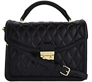 Vera Bradley Quilted Leather Satchel - Lydia - A282993