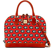 Dooney & Bourke NCAA University of Georgia Zip Zip Satchel - A283193
