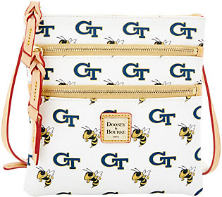 Dooney & Bourke NCAA Georgia Tech University Zip Crossbody