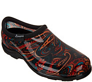 Sloggers Waterproof Paisley Garden Shoes with Comfort Insoles - A289593