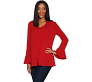 Susan Graver Liquid Knit Cardigan and Tank Set - A297693
