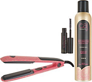 Caj Beauty Volumizing Styling Iron with 10oz. Hairspray - A309693