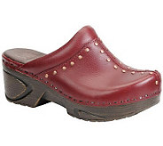 Sofft Cait Leather Clogs - A329993