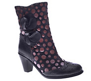Spring Step Leather Mid-Calf Boots - Perignon - A330193