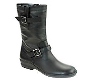 David Tate Dorothy Mid-Calf Leather Boots - A330293
