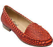 Bellini Snake Embossed Slip-on Loafers - Kendall - A335893