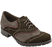 Earthies Suede Lace-up Oxford - Berlin - A338093