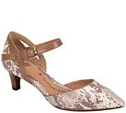 Sofft Kitten Heel Leather Pumps - Vina - A339193