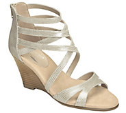 Aerosoles Heel Rest Leather Sandals - Glossary - A340393