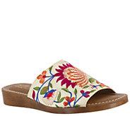 Bella Vita Slide Sandals - Abi-Italy - A363593