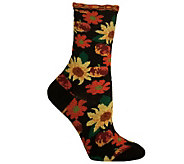 Ozone Design Set of 2 Petunia Pomme Soleil Socks - A242794