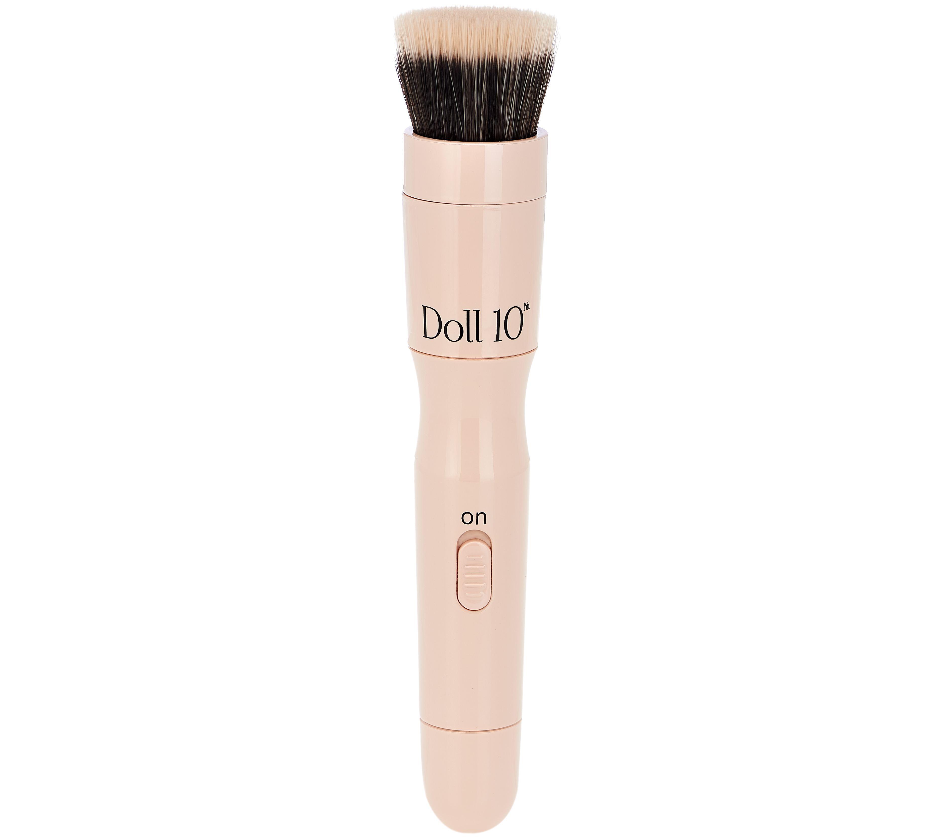 Blue apron qvc - Doll 10 Blendsmart Rotating Foundation Brush A288694