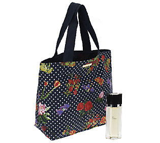 Oscar de la Renta Eau De Toilette Spray & Fashion Tote Bag