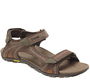 Vionic w/ Orthaheel Mens Orthotic Leather Sport Sandals - Boyes - A266295