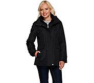 Liz Claiborne New York Zip Front Anorak Coat w/ Quilting - A266695