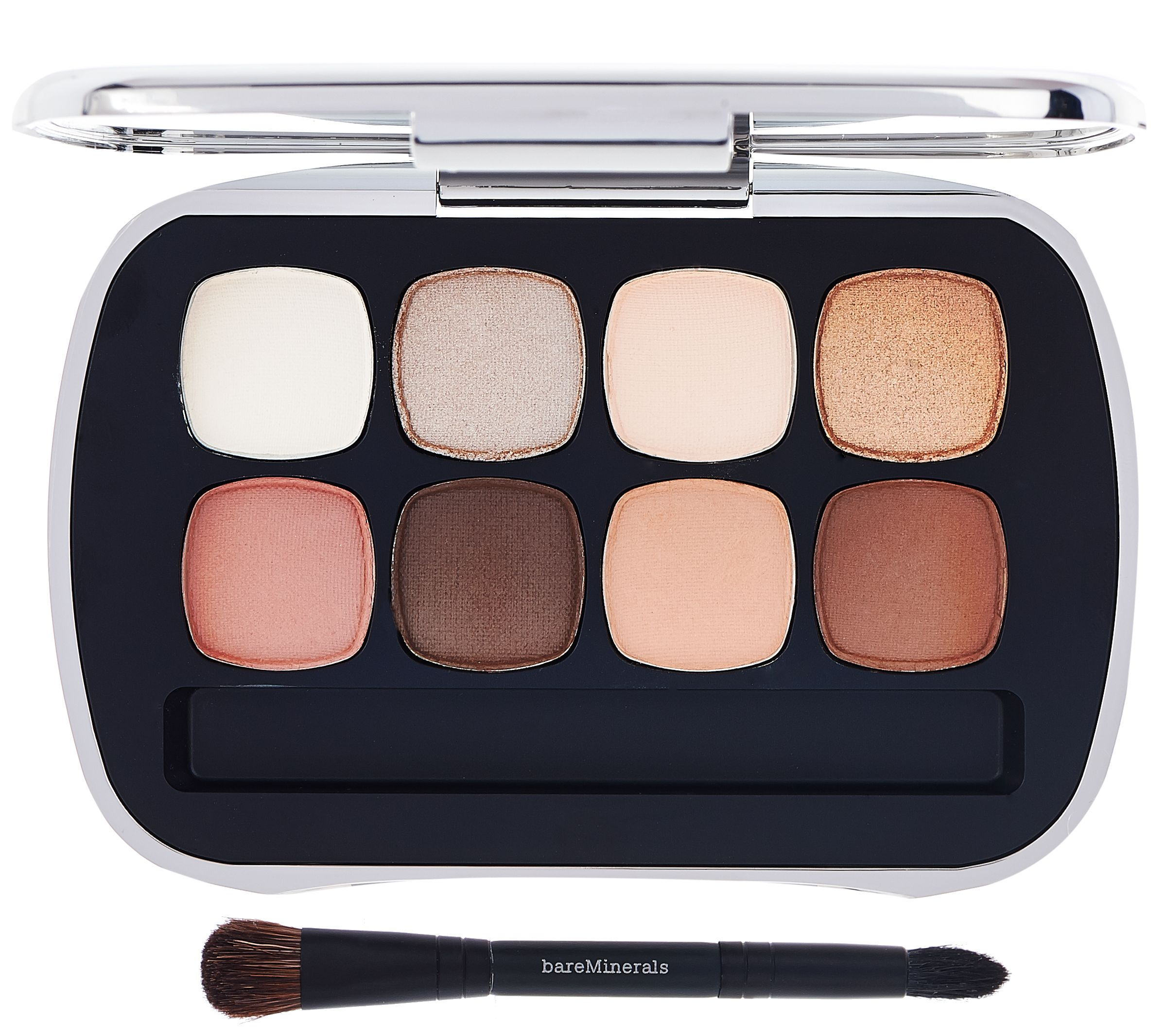 bareminerals ready eyeshadow 8 0 the suede neutrals page. Black Bedroom Furniture Sets. Home Design Ideas