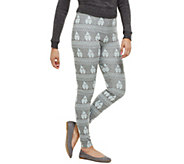 Bethany Mota Pull-On Gnome Jacquard Knit Leggings - A273795