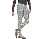 Bethany Mota Pull-On Gnome Jacquard Knit Leggings - A273795