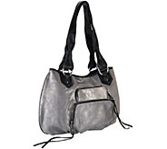 As Is Aimee Kestenberg Pebble Leather Shopper - Sophie - A278395
