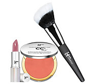 IT Cosmetics ITs Your 3pc Most Naturally Pretty Lips & Cheeks Set - A280495