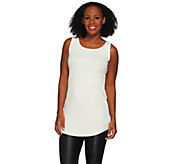 As Is LOGO Layers by Lori Goldstein Thermal Knit Tank - A282295