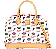 Dooney & Bourke NCAA University of Florida Zip Zip Satchel - A283195