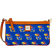 Dooney & Bourke NCAA University of Kansas Slim Wristlet - A283295