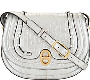 Aimee Kestenberg Vintage Leather Saddle Crossbody - A292595