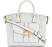 Dooney & Bourke Emerson Leather Satchel Handbag- Naomi - A304995