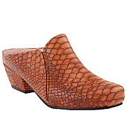 Bellini Nevada Snake Embossed Mules - A333995