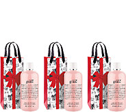 philosophy amazing grace shower gel trio - A338495