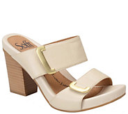 Sofft Slide Leather Sandals - Damia - A339195
