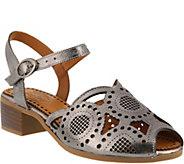 Spring Step Leather Sandals - Laverra - A363995