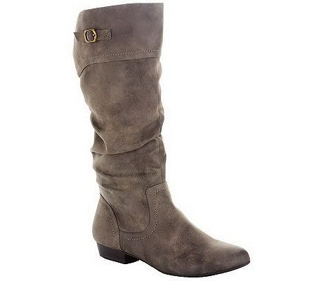 Cliffs by White Mountain Tall Shaft Boots - Fox
