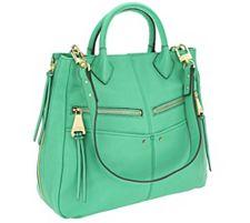 Aimee Kestenberg Leather Nikki Convertible Shopp...
