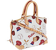 Dooney & Bourke Coated Cotton MLB Satchel - A261196