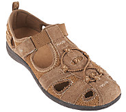 Earth Origins Suede and Mesh Slip-ons - Carmen - A265996
